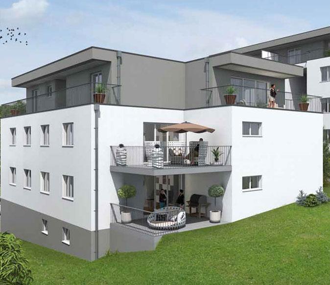 proplus immobilien am kuhlenkamp haus balkon