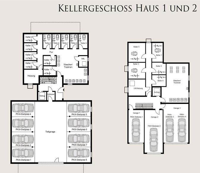 proplus immobilien Bochum am kuhlenkamp skizze keller