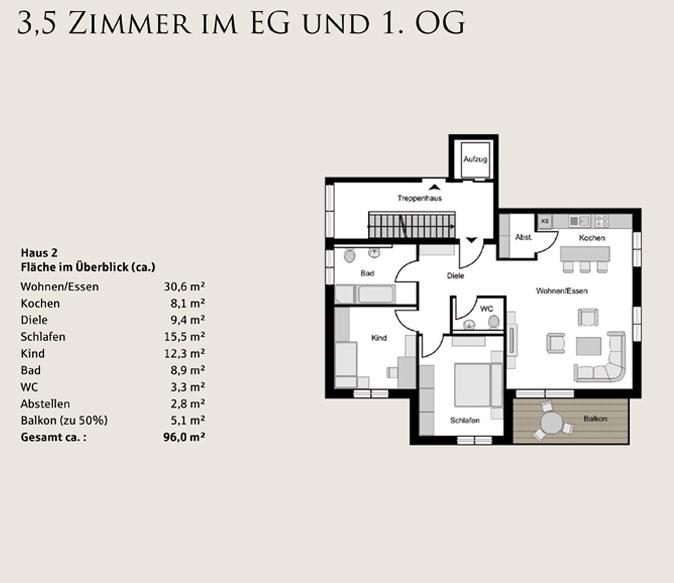 proplus immobilien Bochum kuhlenkamp skizze wohneinheit