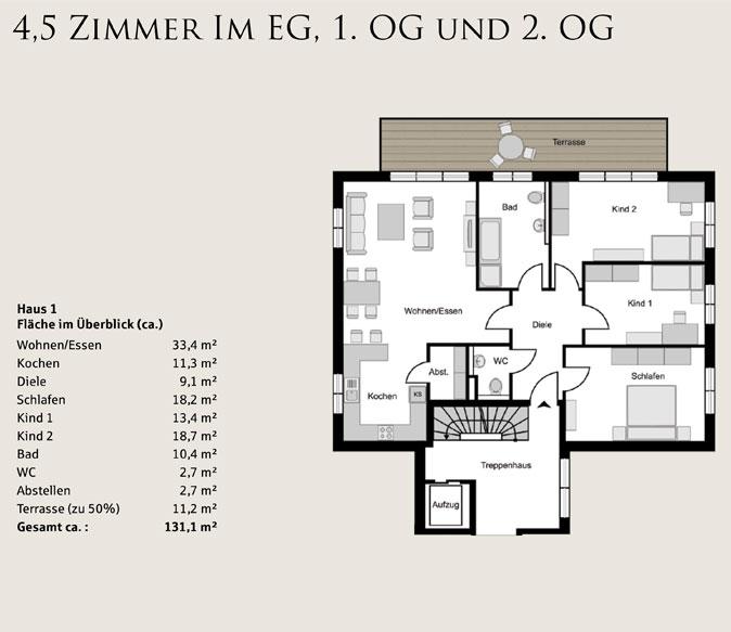 proplus immobilien Bochum skizze haus